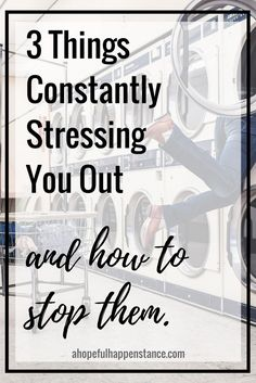 3 things that are always stressing you out and how to stop them. Don't let stress rule your life! You can fix it! Relax / eliminate stress / stressed out / health / wellness /