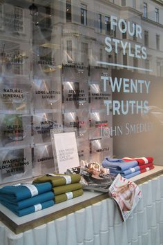 Brook Street Window Display - September 2011