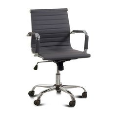 Hokku Designs Dorynn Low-Back Office Chair with Casters - $141.00