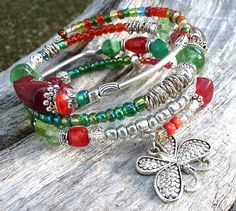 11.Memory Bracelet gypsy style and bohochic. by LesbebellesaLucie