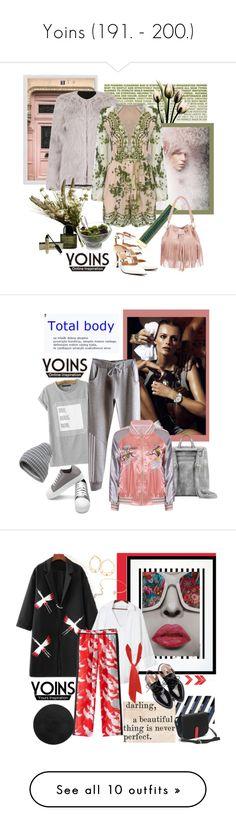 """Yoins (191. - 200.)"" by carola-corana ❤ liked on Polyvore featuring yoins, yoinscollection, loveyoins, (MALIN+GOETZ), Pottery Barn, Abigail Ahern, Nambé, Byredo, NIKE and Eleanor Stuart"