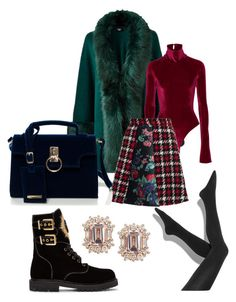 """Fabulous during winter"" by miaanika ❤ liked on Polyvore featuring Balmain, Alix, MSGM and Simply Vera"