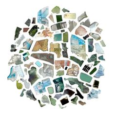 """77 Waste and Salt Ponds / Jenny Odell scours imagery on Google Earth and collects sightings into """"Satellite Collections"""""""