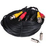 VideoSecu 150 Feet Audio Video Power Security Camera Cable with BNC RCA Adaptor ACBVA150 3JH - http://www.audiovideocabledeals.com/adapters/adapter-adapters/videosecu-150-feet-audio-video-power-security-camera-cable-with-bnc-rca-adaptor-acbva150-3jh/