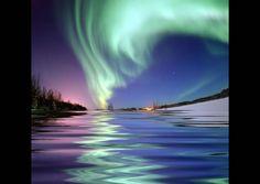 Aurora borealis from Alaska