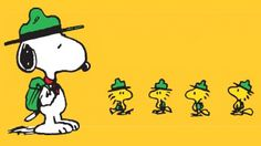 Snoopy and his Beagle Scouts