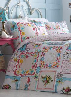 Vintage hankies bedding set - bedding - Home, Lighting & Furniture - BHS