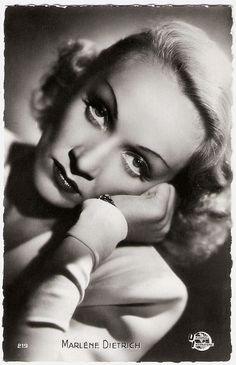 Marlene Dietrich. French postcard by Editions P.I., Paris, no. 219, offered by Victoria, Brussels. Photo: Universal Pictures.