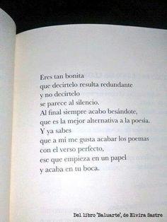 Besar.. la mejor alternativa para la poesia / Elvira Sastre.