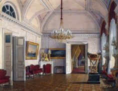 Interiors of the Winter Palace. third spare half. the fourth room