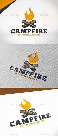 Campfire Logo Template - Symbols Logo Templates Download here : https://graphicriver.net/item/campfire-logo-template/19893839?s_rank=246&ref=Al-fatih