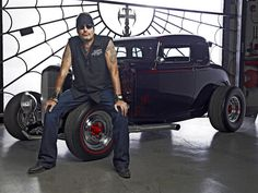 Picture: Danny 'The Count' Koker in 'Counting Cars.' Pic is in a photo gallery for Danny 'The Count' Koker (Counting Cars) featuring 9 pictures. Toyota Prius, Toyota Supra, Carroll Shelby, Cadillac, Harley Davison, Bear Grylls, Pagani Huayra, Mercedes Benz Amg, Ozzy Osbourne