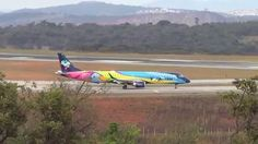 Embraer 195 Azul ostenta uma das mais belas pintura da Aviação Brasileira