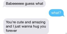 awwwwwww this is like goals af to just get random messages like that