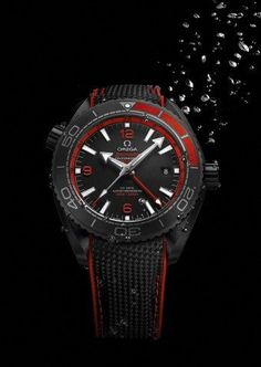 Fratello Watches introduces you to the Omega Seamaster Planet Ocean Deep Black with a lot of (live) images and official pricing. Omega Planet Ocean, Omega Seamaster Planet Ocean, Dark Side, Black Planet, Seamaster Aqua Terra, Ocean Deep, Custom Design Shoes, Black Edition, Men Watches