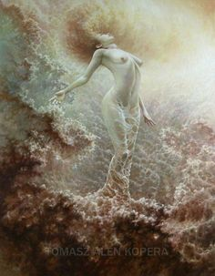 Painting of Tomasz Alen Kopera Surreal Artwork, Fantasy Artwork, Cool Artwork, App Drawings, Spirited Art, Conceptual Photography, Matte Painting, Visionary Art, Fantasy Landscape