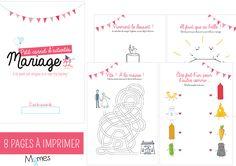 cahier activites mariage pour enfant