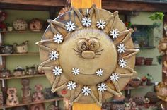 Sluníčko z Vysočiny (D) na obj. Soutache Jewelry, Clay Art, Decorative Plates, Pottery, Bowls, Home Decor, Clays, Bottles, Sculptures