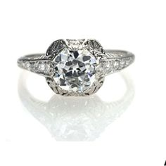 vintage ring :)   A Lil big for my taste but its still beautiful
