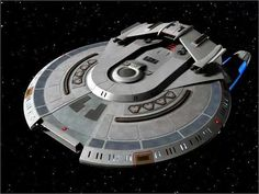 I think this is called a Chimera Class Starship. Nice update on the Miranda Class design.