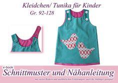 Kleid / Tunika Schnittmuster und Anleitung von selbermacher auf DaWanda.com