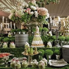Dessert Tablescape #designlabevents