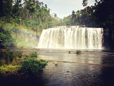 Tinuy-an Falls in Bislig, Surigao