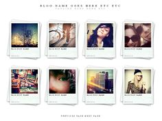 A polaroid based theme ideal for both personal blogs and showcasing your portfolio. Minimalist, clean, light and fast to load.
