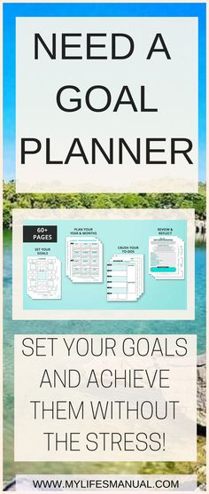 How to set goals and actually them slay your goals planner is the looking for a planner for your personal and business goals slay your goals planner is malvernweather Choice Image