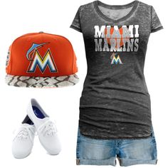 Fresh Miami Marlins Gear for women Baseball Game Outfits, Baseball Games, Baseball Mom, Marlins Baseball, Trendy Outfits, Cute Outfits, Miami Marlins, Baseball Season, New York Yankees