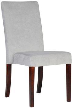 Krzesło sztaplowane - zwężane siedzisko, DomArtStyl - Meble - sklep meble.pl Accent Chairs, Dining Chairs, Furniture, Home Decor, Upholstered Chairs, Decoration Home, Room Decor, Dining Chair, Home Furnishings