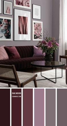 Living Room Decor Colors, Living Room Color Schemes, Bedroom Colors, Bedroom Decor, Home Room Design, Home Interior Design, Living Room Designs, Interior Architecture, Retro Living Rooms