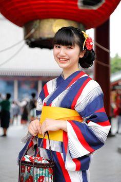 Yukata, Pretty Woman, Kimono, Sari, Twitter, Women, Fashion, Saree, Moda