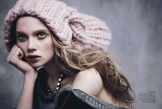 Holly Rose Emery for Vogue Australia August 2013 by Nicole Bentley - Definitely replicating this look for fall, beautiful