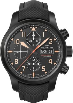 Fortis Watch Aviatis Aeromaster Stealth Chronograph #add-content