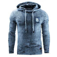 Retro Mens outdoor sports fitness hooded sweater - blaroken.com New Casual Fashion, Fashion Outfits, Sport Fashion, Mens Fashion, Tactical Jacket, Retro, Hooded Sweater, Outdoor Outfit, Plein Air
