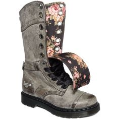 Dr. Martens Women's Shoes, Triumph 1914 Boots ($160) ❤ liked on Polyvore