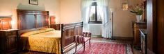 Bedrooms & Suites - VILLA CAMPESTRI - Olive Oil Resort - hotel in florence, vicchio di mugello