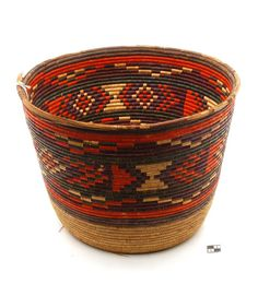 Africa | Basket from the Darfour region of Sudan | 20th century