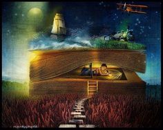 Serenity One Wise Life - Fotos Fantasy Quotes, Fantasy Art, Looks Dark, Reading Art, Dark Reading, Photoshop, World Of Books, Magic Book, Book Images