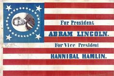 """""""It seems as if the question whether my first name is 'Abraham' or 'Abram' will never be settled. It is Abraham,"""" wrote Lincoln in June 1860. However, one campaign banner opted for the shorter and more typographically convenient 'Abram' during one of the most crucial presidential election campaigns in history."""