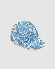 Gorra de bebé niño Brotes con palmeras