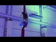 Aerial Silks Showcase - Inspire Aerial Arts 2015 - Kari - YouTube