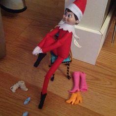 Girl Elf on the Shelf Ideas Christmas Activities, Christmas Traditions, Awesome Elf On The Shelf Ideas, Elf Magic, Elf On The Self, Girl Elf, Naughty Elf, Christmas Preparation, Buddy The Elf