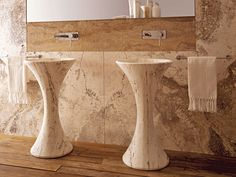 Studio Padrini — Aqua pedestal sink