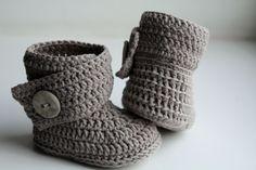 Free Crochet Boot Pattern Uggs Ugh Crochet Boots Free Crochet Boot Pattern Uggs Crochet Baby Ugg Boots Gray Baby Uggs W Pink Bow Baby Ugh Crochet Boots . Crochet Baby Boots, Crochet Slippers, Baby Booties, Baby Shoes, Baby Sandals, Baby Patterns, Crochet Patterns, Knitting Patterns, Ugg Boots Cheap