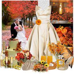 """""""Fall Wedding"""" by pretty-odd on Polyvore"""