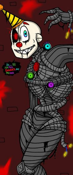 Ennard (Sister Location) by YaoiLover113.deviantart.com on @DeviantArt