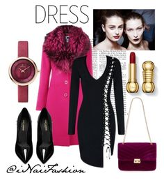 """""""Untitled #955"""" by inaifashion on Polyvore featuring Pat McGrath, Blumarine, Red Herring, Yves Saint Laurent, contest, dress, contestentry and fashionset"""