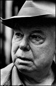Jean Renoir (1894-1979) - French film director, screenwriter, actor, producer and author. Photo by Henri Dauman, 1961